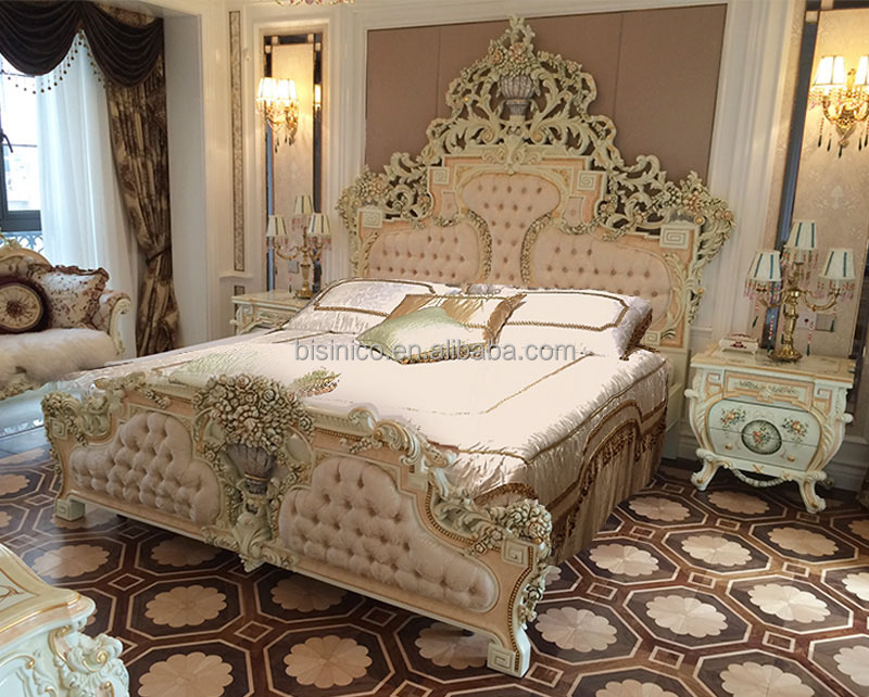 Luxury Italian Double Bed,Royal French Design King Bed   Buy Royal King  Size Bed,Italian Design Double Bed,French King Bed Product On Alibaba.com Part 37