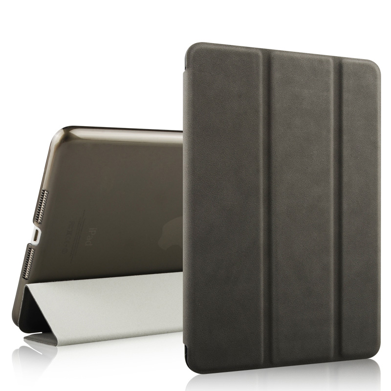 Smart Drop resistant Ultra slim Deerskin Texture case for ipad mini 1 case ipad mini leather case cover