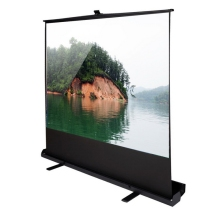"60""-120"" Roll-up floor standing 1080p projector screen/Portable Scissor structure Floor Projection Screen"