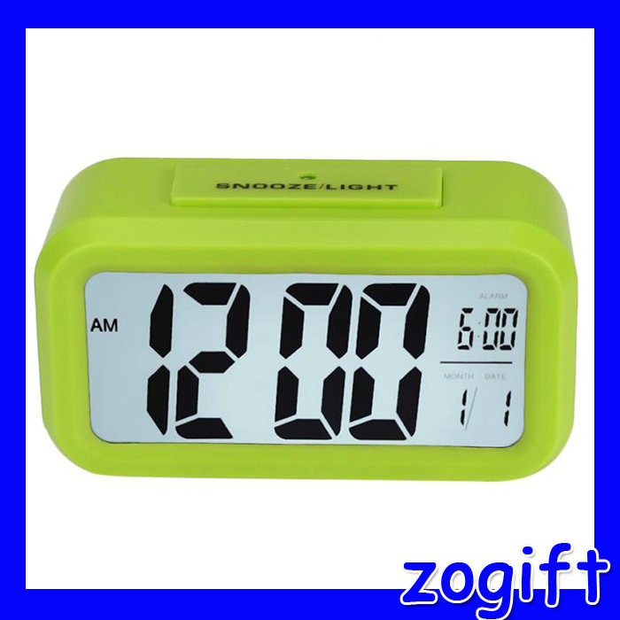 ZOGIFT Multifunction snooze talking LCD digital table clock with <strong>date</strong> and temperature