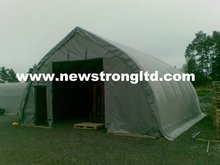 Steel Frame PVC Fabric Prefab Houses