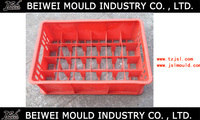 Customized plastic glass cup/wine glass bottle/container crate turnover box mould