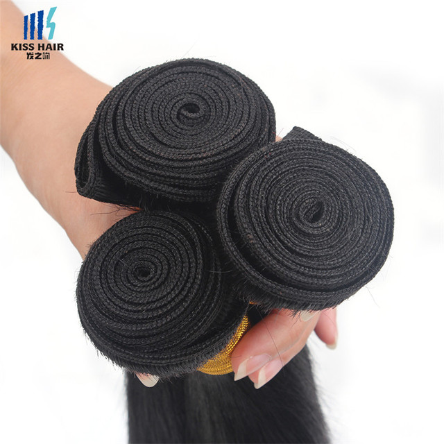 Cheap Silky Straight Peruvian Hair Weaving