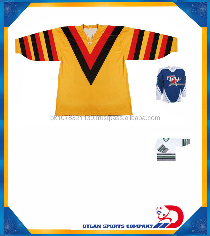 Dye Sublimation Ice Hockey Jersey 2014