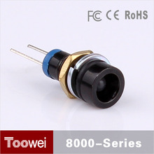 CE, RoHS Approved 6mm 2.4-24VDC 12v metal control panel indicator light