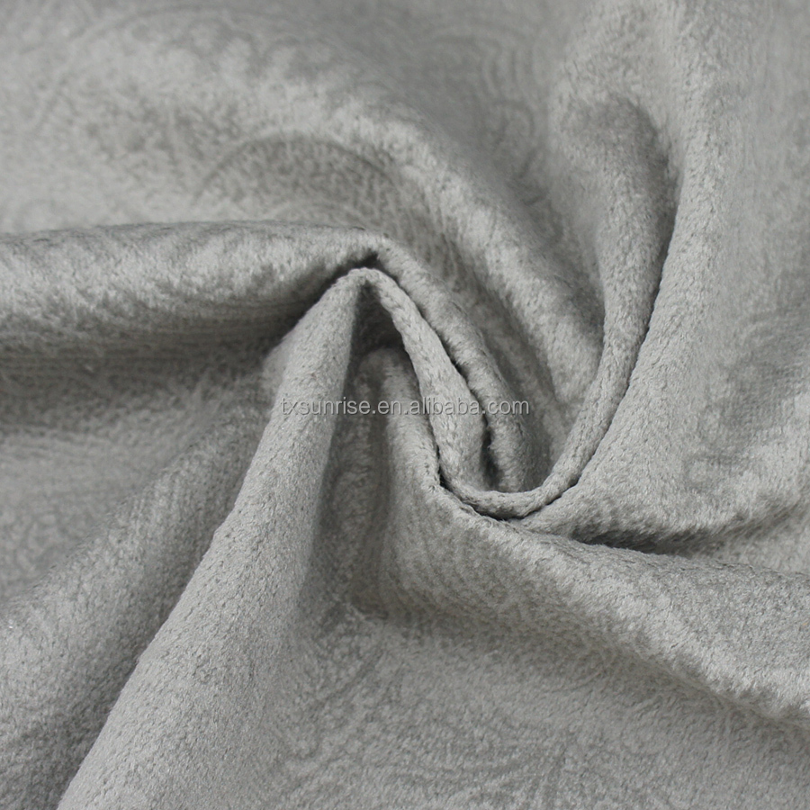 100 polyester jacquard blackout curtain fabric made in zhejiang