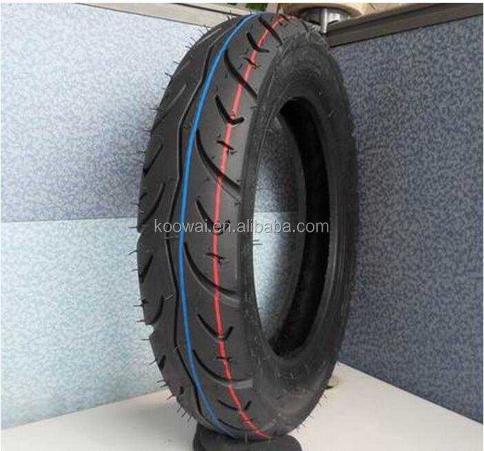 cheap motorcycle tyre casing 110/90-16 in Qingdao tire factory