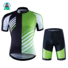 Bicycle riding suit short sleeve suit male <strong>sportswear</strong>