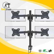 Desk Clamp Mount triple Adjustable LCD Monitor Stand / Arm
