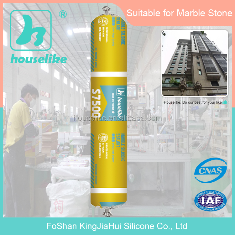 High quality marble Product Sausage Neutral caulking sealant S7500