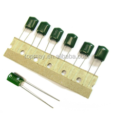 0.1uf 63v green polyester film capacitor CL11