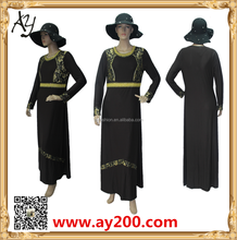 Islamic fashion abaya clothing hot sale in turkey Iranni and more country