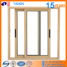 heat insulation break bridge aluminium sliding windows hollow glass