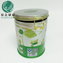 tin can manufacturer supply new style metal round tea tin can with lids