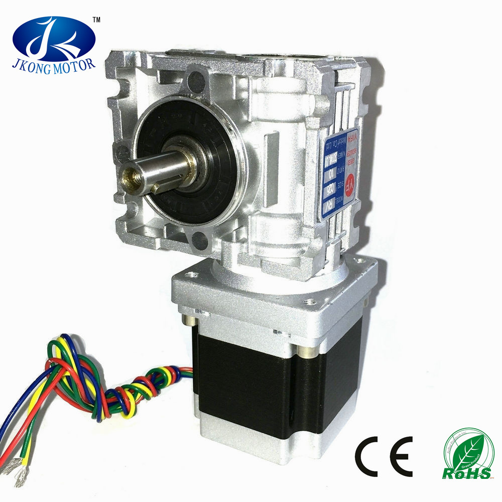 Small worm gear stepper motor