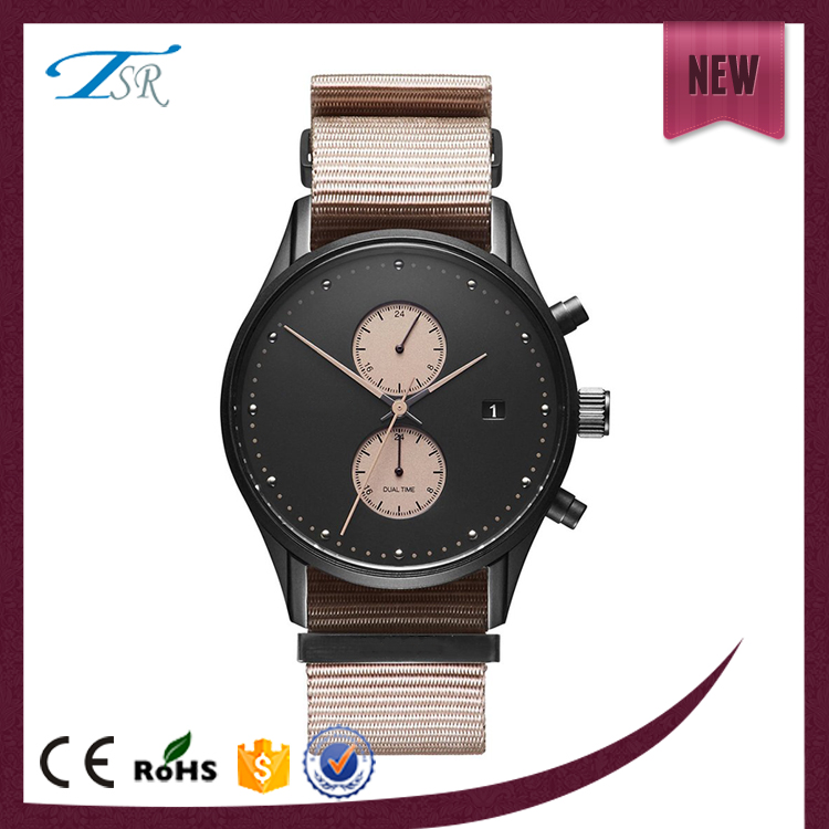 2017 Nickel Free 316l Japan Movement Case 5 Atm Quartz Water Resistant Stainless Steel Watch