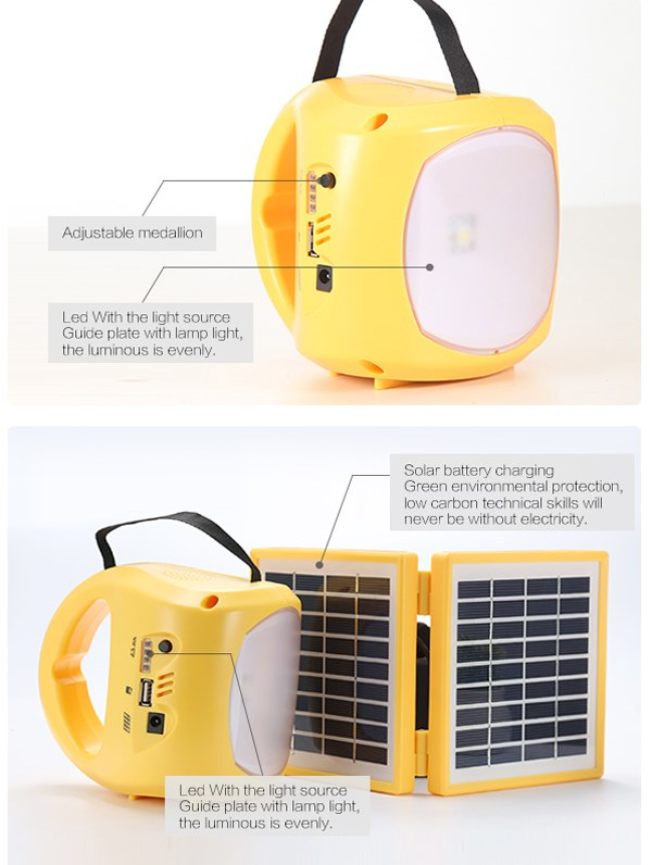 Hot sale low price outdoor high power light sun energy 3 in 1 solar powered lantern
