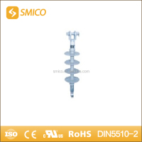 FXB 12 KV High voltage Pin-type long rod suspension & strain composite Insulator