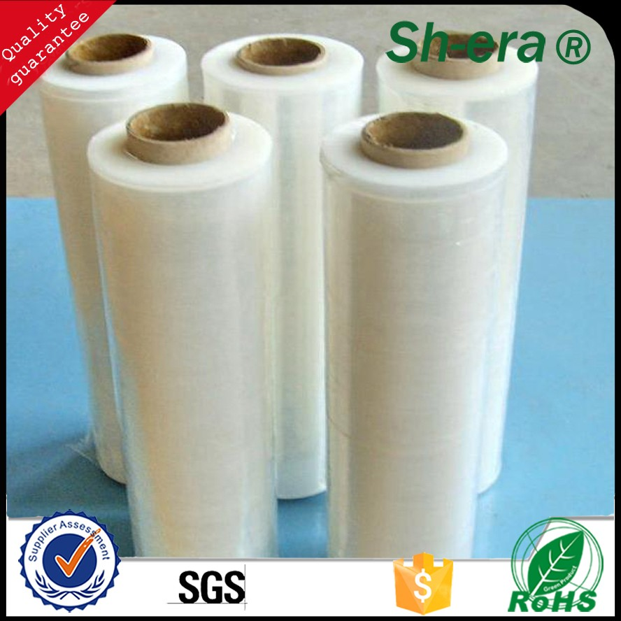 High Quality Wholesale PE Stretch Film for sealing and manual packaging