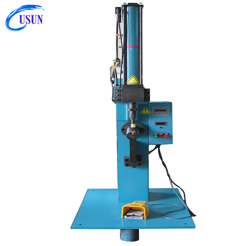 Hot sale Usun Model : ULYE -8T rivetless C frame pneumatic clinch machine for metal sheet