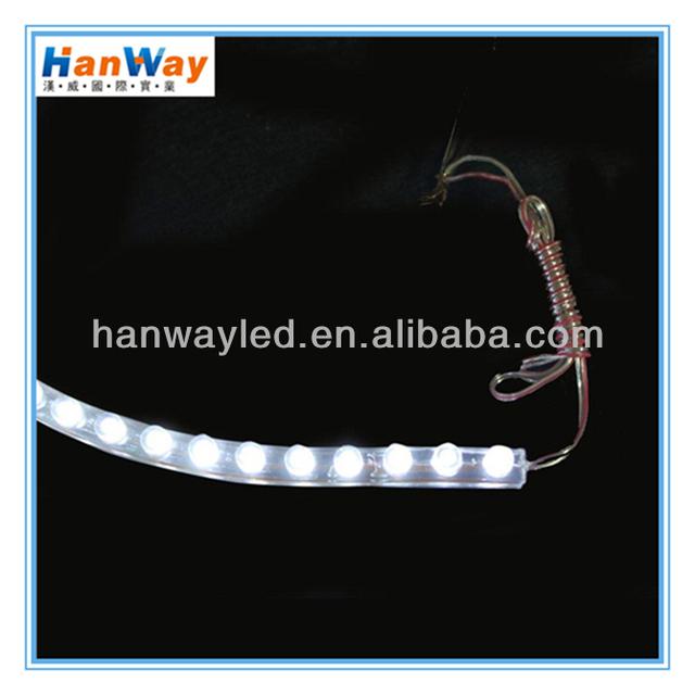 flexable led silicon car decor lighting