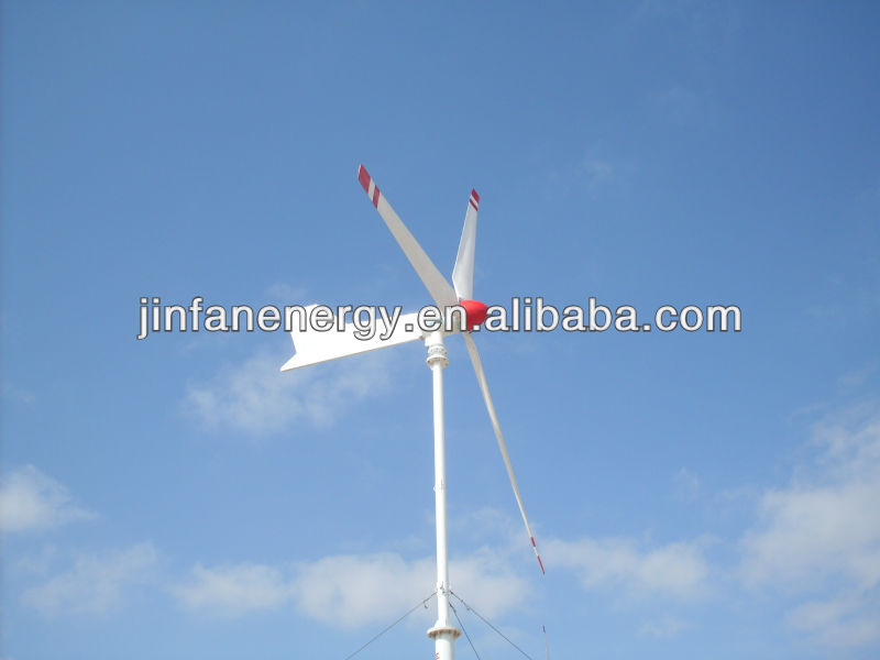 CE approved JINFAN 10kw wind turbine generator with controller and inverter
