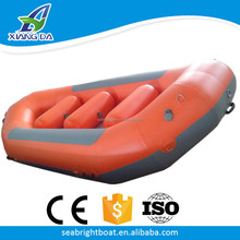 1.2mm PVC or Hypalon Hull Material Drop Stitch Floor Inflatable Whitewater Rafting Boats