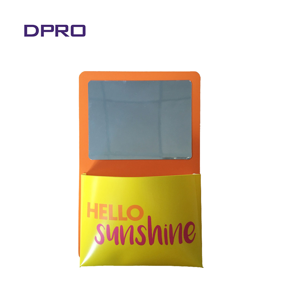 Magnetic Locker Mirror With Pocket For Decoration