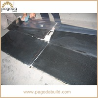G684 Black Granite Basalt Tiles Granite Slabs for Sale from Fujian China