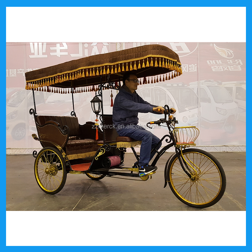 Eco Friendly Battery Operated E Rickshaw For Passengers