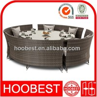 Factory Manufacturer Direct Wholesale cheap new style round table rattan and chair