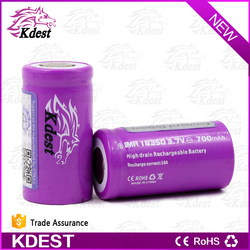 low shipping cost imr 3.7v li ion battery,rechargeable 18650 li ion battery