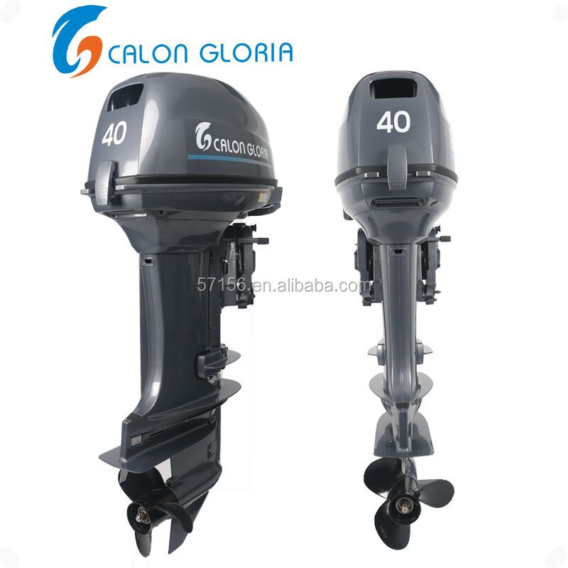 Gasoline Fuel Type and 2 Cylinders Enduro 40 hp outboard motor
