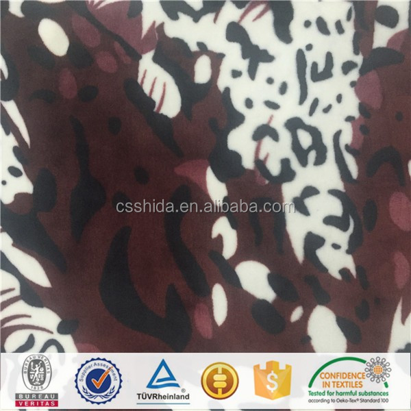 chinese manufacturer polyester micro super soft velvet plush fabric velour for garment, home textile