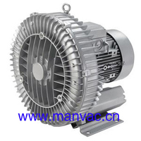 Manvac brand 3KW LD 030 H43 RA7 air drying High pressure Single stage regenerative turbines blower