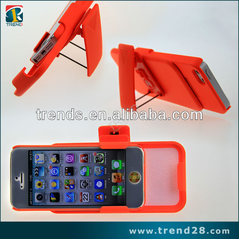 "new product phone accessory holster for iphone 5"" case"