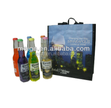 Eco-friendly wine bag/Gift wine bag/promotional nonwoven 6 wine bottles bag