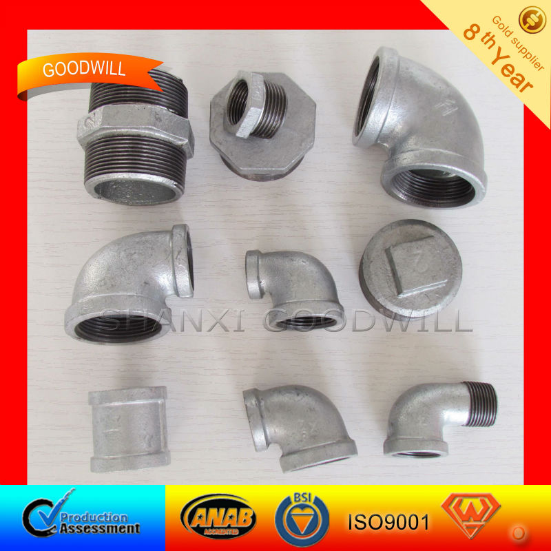 Threads Malleable Iron Pipe Fitting--SHANXI GOODWLL