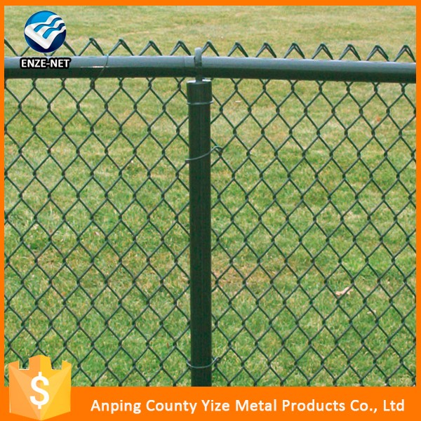 Galvanized Chain Link Fence With Grey Slats, Galvanized Chain Link ...