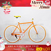 "26""steel sports fixed gear China cheap racing bike"