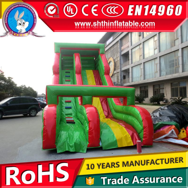 hot sale inflatable jumping water slide for kids and adults