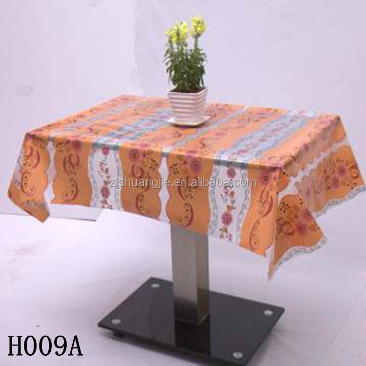 Decorative Printed PVC Tablecloth Fabric Wholesale