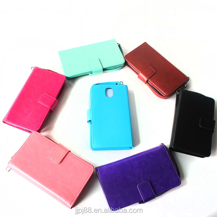 Hot sale for Samsung Wallet mobile phone cover TPU case leather