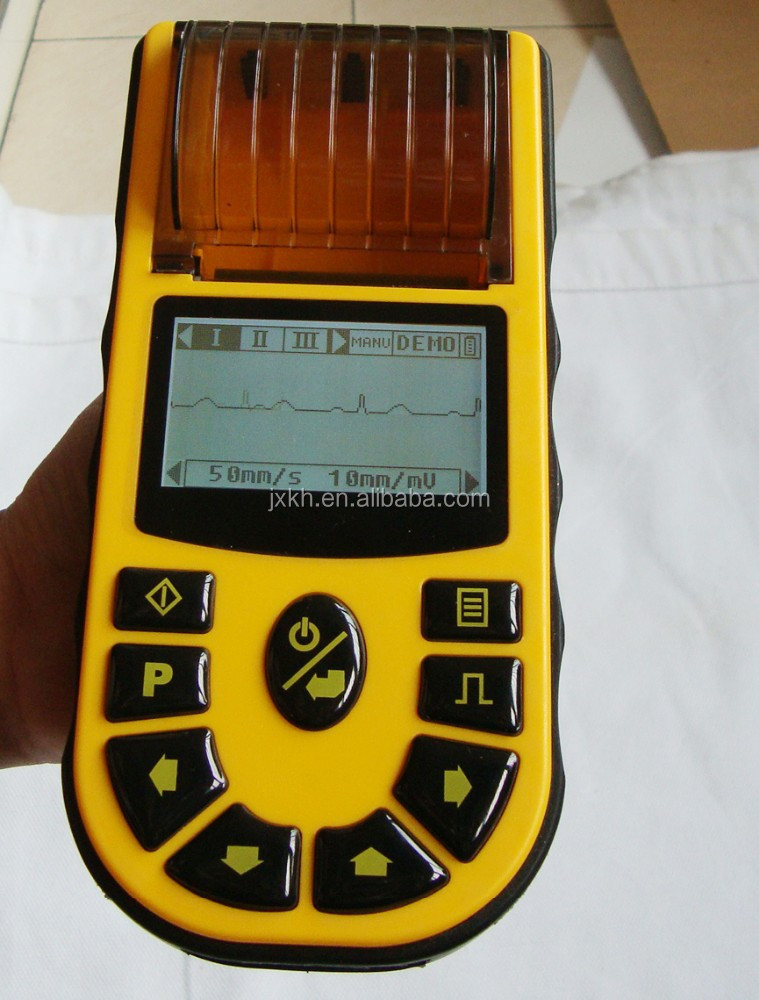CE approved Handheld 1-channel Veterinary Electrocardiograph/EKG/ECG machine EKG-80V