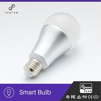 Automation Home Systems Smart Home E27 E26 Z-wave Led RGBW Bulb Light