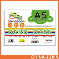 Hard Plastic Card Case For Filing Document