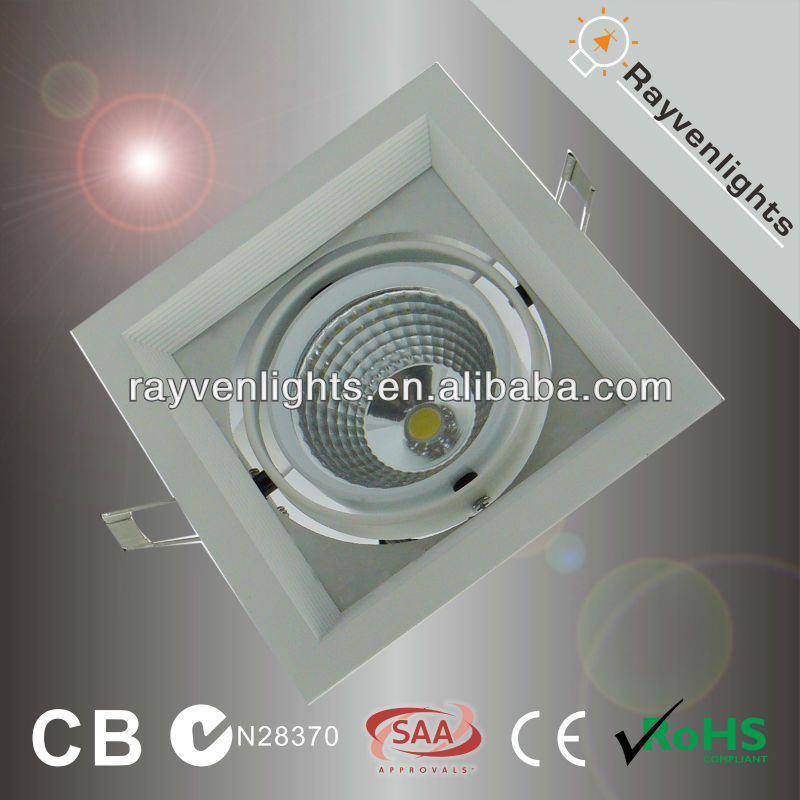 surface mounted square downlight led 10W square led downlight 220v