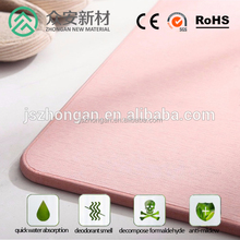 diatomaceous earth bath mat for bathroom and shower