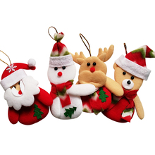 New products 2018 Deer Snowman Chrismas Tree ornaments Christmas Gift Santa claus Christmas Decoration Supplies Arbol De Navidad