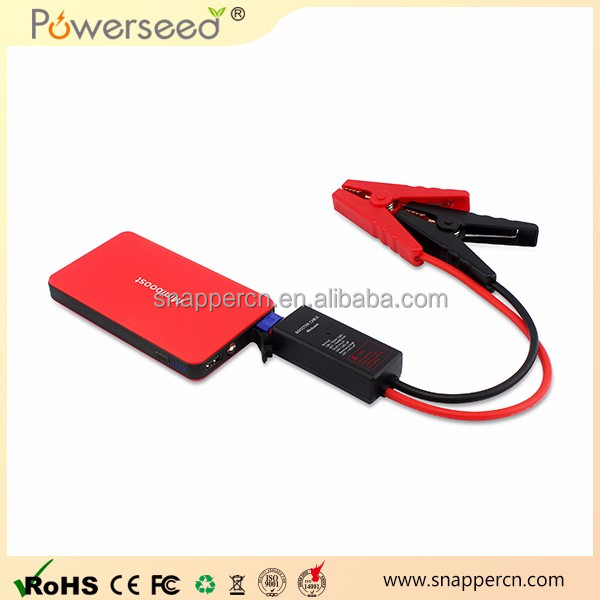 powerseed jump start 12v car starter booster with LED screen
